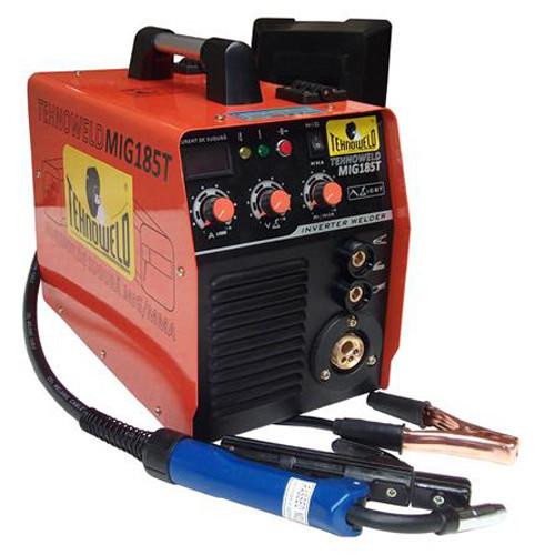 Invertor de sudura MIG-MAG TEHNOWELD MIG-185T, 230 V, 3.7 kW, 20-170 A