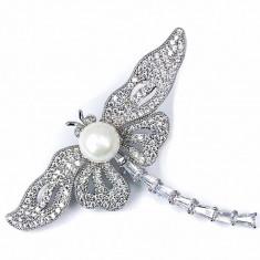 Brosa Libelula Silver by Borealy