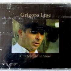 Grigore Leșe - CANTECE DE CATANIE. CD original, cu holograma, nou, in tipla
