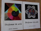 DICTIONAR DE ARTA VOL.1-2 FORME, TEHNICI, STILURI ARTISTICE, A-Z - IRINA CIOS, C