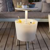 Mini bar gradina iluminat alb Keter Cool Bar