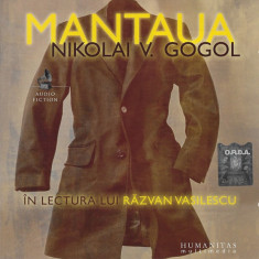 CD Nikolai V. Gogol În Lectura Lui Răzvan Vasilescu – Mantaua, original