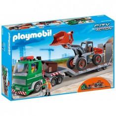 Playmobil City Action - Camion cu incarcator frontal