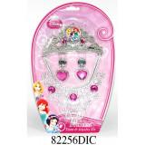 Set diadema si bijuterii Disney 3 New Princess, 4 piese, Disney Princess