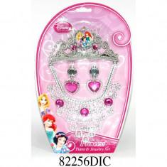 Set diadema si bijuterii Disney 3 New Princess, 4 piese