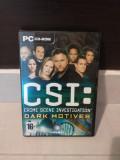 CSI Crime Scene Investigation: Dark Motives (pc Cd) 3 CD-uri