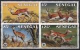 Senegal 1986 - Fauna WWF serie neuzata