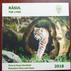 Medalie argint Monetaria Statului flora si fauna Romaniei RASUL