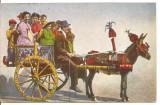 (@) carte postala(ilustrata)-ITALIA -Carul sicilian