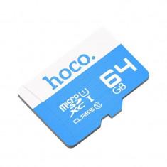 Card de memorie HOCO MicroSDXC 64GB CLASS 10 UHS I U1 95MB/s USB 3.0
