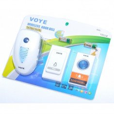 Sonerie Wireless 2 Butoane , 220V / 150m VOYE