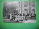 HOPCT 36981 PLECARE LA VANATOARE -AUTOMOBIL -SERIA FRANTA 1900-1905-NECIRCULATA