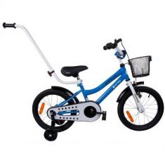 Bicicleta BMX Junior 16 Albastru