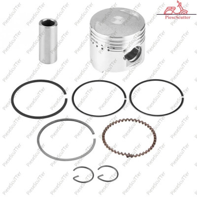 Kit Piston + Segmenti Scuter First Byke - Bike 4T 80cc - 47mm - bolt 13mm foto