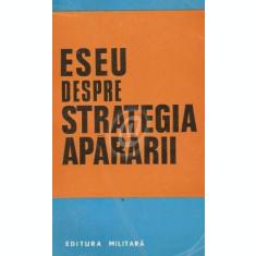 Eseu despre strategia apararii