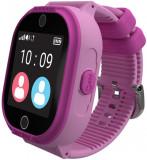 Smartwatch MyKi 4 Lite, Display IPS 1.3inch, Wi-Fi, Bluetooth, 3G, Camera, rezistent la apa, dedicat pentru copii (Roz)