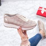 Pantofi sport Piele dama aurii Iamori-20-rl
