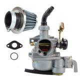 Carburator Atv 125 soc pe Cablu + Filtru Aer + Garnituri Carburator