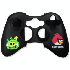 Husa Silicon Angry Birds pentru controller XBOX 360 - 60483