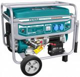 Generator insonorizat Benzina Total- 5500W, 389 cmc, zgomot redus