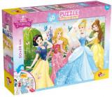 Puzzle de colorat - Printese Disney (60 piese) PlayLearn Toys, LISCIANI