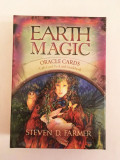 Carti oracol de ghicit Earth Magic - Steven D. Farmer, nou, ezoterice