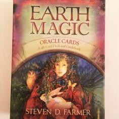 Carti oracol de ghicit Earth Magic - Steven D. Farmer, nou, ezoterice