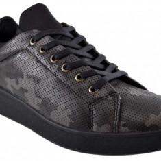 Pantofi Barbati Casual Gri Camuflaj, 40 - 43
