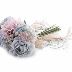 Buchet flori artificiale Dalia