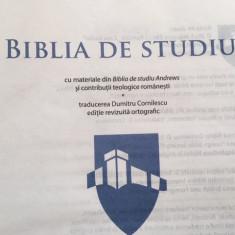 BIBLIA DE STUDIU TRAD D. CORNILESCU, EDITIE REVIZUITA ORTOGRAFIC 2014