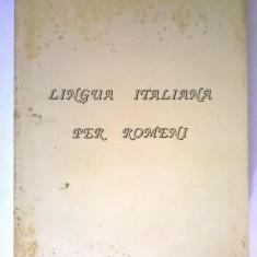Lingua Italiana per romeni