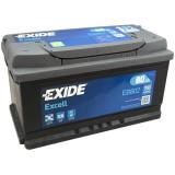Baterie auto Excell 80Ah, 700A, 80 - 100, Exide