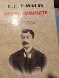 OPERE COMPLETE VOL. I - POEZIA - KAVAFIS, ED OMONIA 2001,471 PAG, CARTONATA