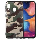 Cumpara ieftin Husa silicon army Samsung A20e - Verde