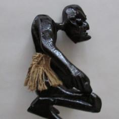 Arta africana-arta naiva-Barbat african-vintage