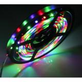 Cumpara ieftin Banda RGB LED, cu telecomanda si joc de lumini multicolore