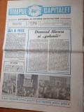 """ziarul timpul capitalei 11-17 mai 1990-art. domnul iliescu si """"golanii"""""""