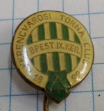 Insigna club fotbal FTC Ferencvaros, Ungaria