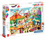 Cumpara ieftin Puzzle Super Color Luna Park, 60 piese