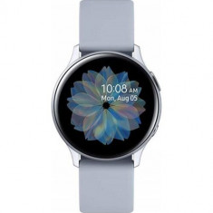 Ceas Smartwatch Samsung Galaxy Watch Active 2, 44 mm, Wi-Fi, Aluminum – Cloud Silver