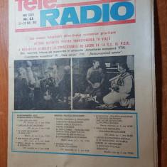 revista tele-radio saptamana 23-29 mai 1982