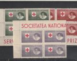 "Romania ,Crucea  rosie ""prizonieri de razboi ,hartie alba.nr lista 5."