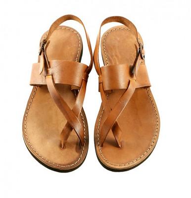 Sandale Perla Coniac foto