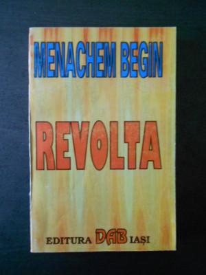 Menachem Begin - Revolta foto