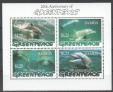 SAMOA 1997 DELFINI GREENPEACE, Nestampilat