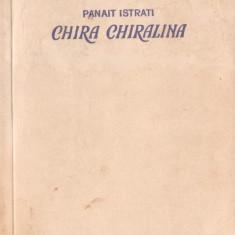 CHIRA CHIRALINA – PANAIT ISTRATI