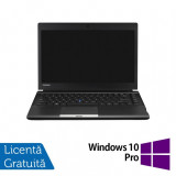 Laptop Toshiba Portege R30, Intel Core i5-4310M 2.70GHz, 4GB DDR3, 250GB SATA, 13 Inch + Windows 10 Pro