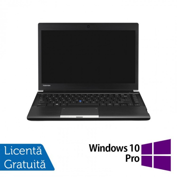 Laptop Toshiba Portege R30, Intel Core i5-4310M 2.70GHz, 8GB DDR3, 240GB SSD, 13 Inch + Windows 10 Pro