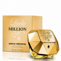 Apa de parfum Tester Femei, Paco Rabanne Lady Million, 80ml, 80 ml