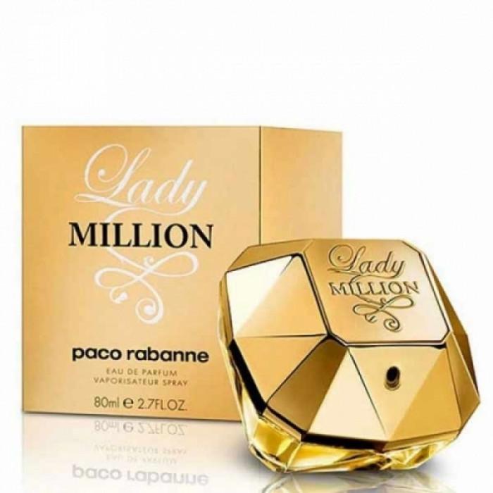 Apa de parfum Tester Femei, Paco Rabanne Lady Million, 80ml